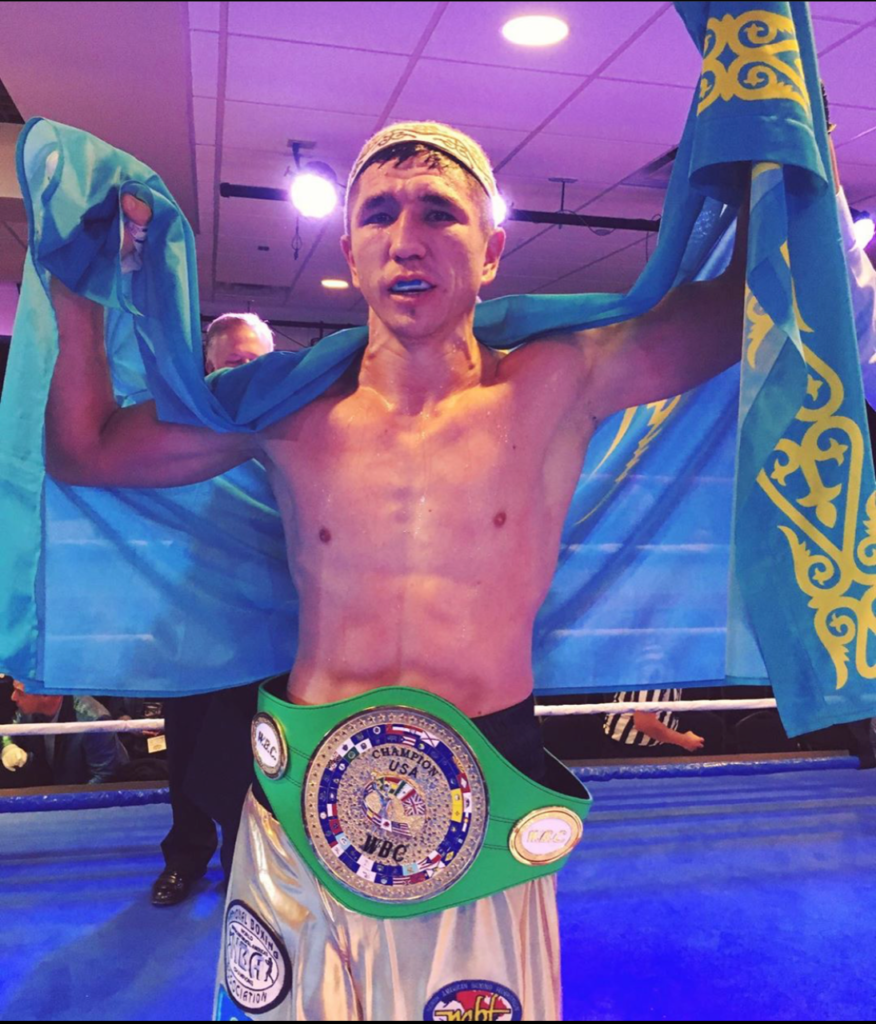 Madiyar Ashkeyev Remains Unbeaten, Stops Martinez in Five